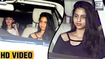 Suhana Khan Looked HAPPY After Partying At Daddy SRK's Birthday