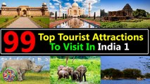 99 Best Tourist Attractions Places To Visit In India 1 | Top Tourist Destinations To Travel - Tourism In India