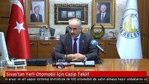 Sivas'tan Yerli Otomobil İçin Cazip Teklif