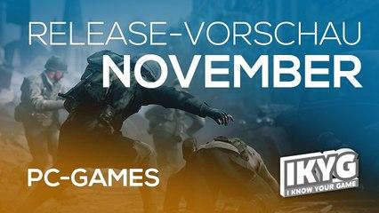Games-Release-Vorschau - November 2017 - PC