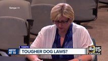 Tougher dog laws?