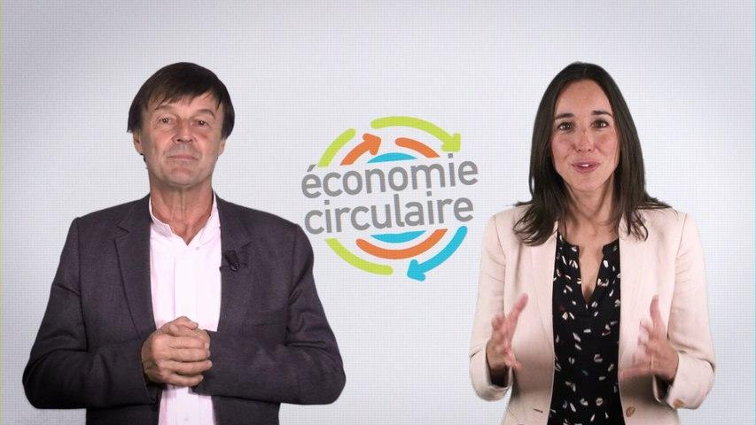 """Nicolas Hulot et Brune Poirson: """"Entrez dans la boucle"""" de la réflexion collective sur l'économie circulaire"""
