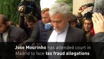 Jose Mourinho in court to deny Real Madrid tax fraud charges