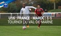 U16, Tournoi du Val-de-Marne : France-Maroc (1-1), le résumé