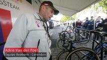 Adrie Van der Poel parle des vélos de cyclo-cross