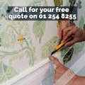 Painterly Wallpaper Hanging and Wallpaper Stripping in Dublin - CALL 01 254 8255