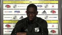 Conférence de presse d'avant Match Amiens SC - Montpellier HSC