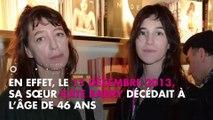 """Charlotte Gainsbourg """"obsessionnelle"""" : elle se confie sur la mort de sa sœur Kate Barry"""