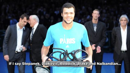 """Jo-Wilfried Tsonga answers to our interview """"Yes or no""""."""