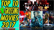 TOP 10 Highest Grossing Movies of 2017 (Box Office)