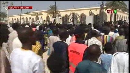 Prière vendredi à Touba, Sortie mosquée Pr. Macky Sall