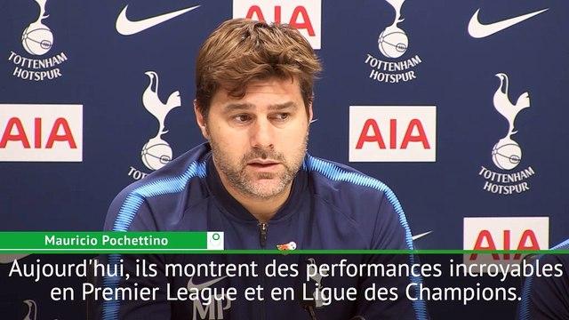 Foot - ANG - Tottenham : Pochettino «City, la meilleure équipe d'Europe»