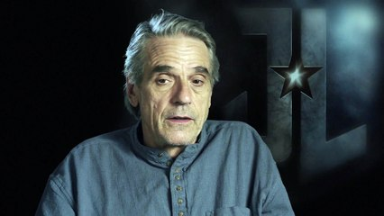 Justice League - Jeremy Irons interview