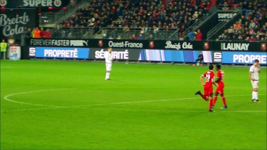 03/11/17 : SRFC-FCGB : changement Traoré / Danzé (54')