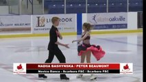 2018 Skate Ontario Sectional Qualifying - Novice Dance Cha Cha Congelado - Group 1