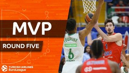 Round 5 MVP: Nando De Colo, CSKA Moscow