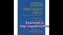 Motor Wiring Diagram Manual, 1989 Chrysler Motors Eagle-Jeep, Ford Motor Company  Includes A-C & Heater Vacuum...