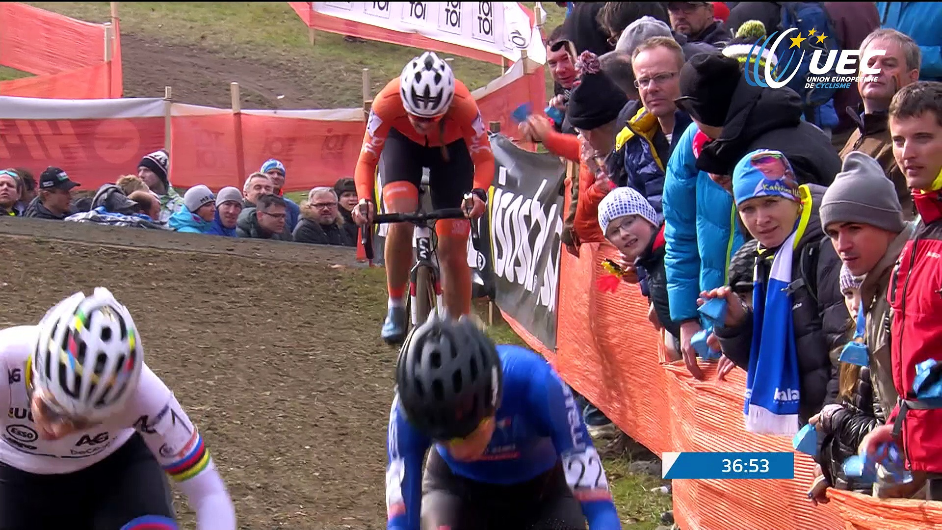 2017 UEC Cyclo-cross European Championships, Tabor (Cze) – Highlights Women Elite