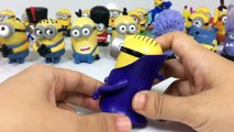 All 2017 new new McDonalds Happy Meal Minions Toys Complete Despicable Me Keiths Toy Box