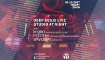 Deep Sesje Live, Wavebeat, Studio At Night