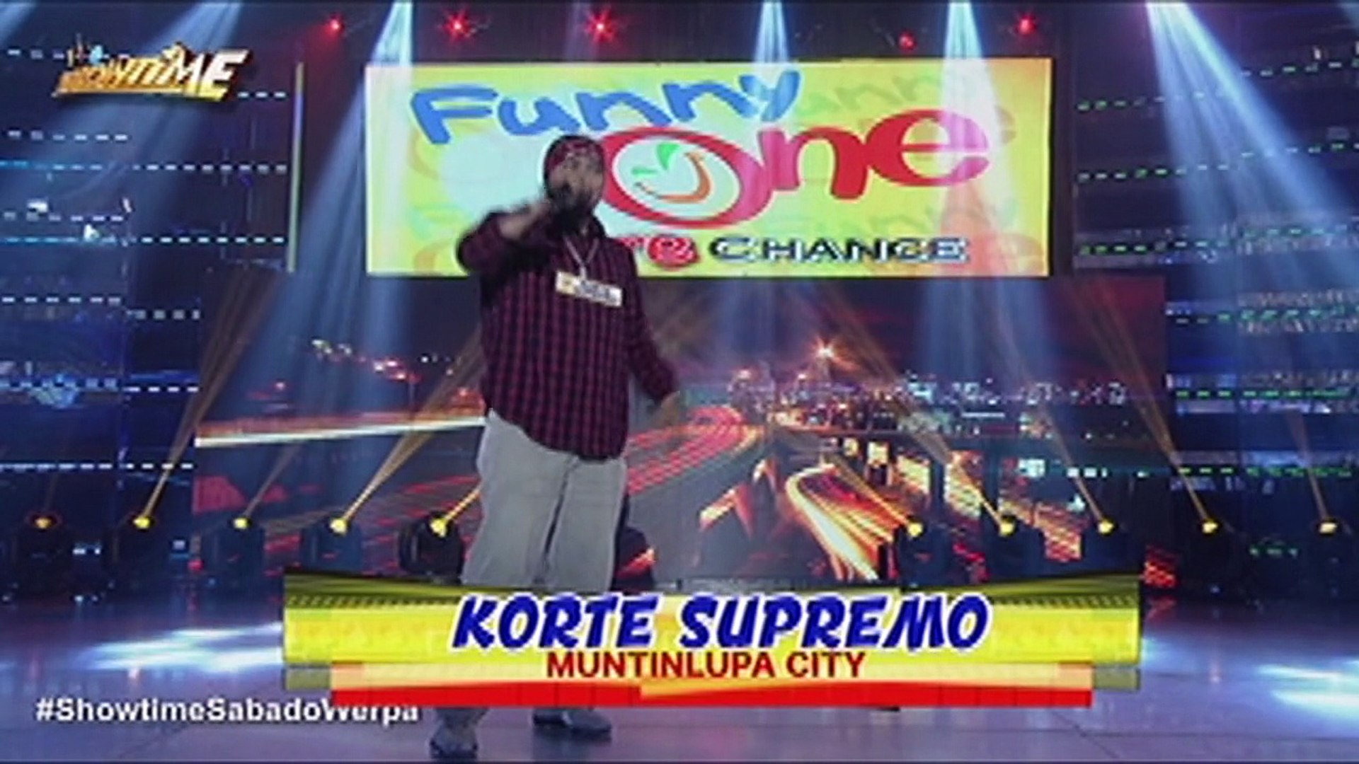 It's Showtime Funny One: Korte Supremo | Funny One More Chance