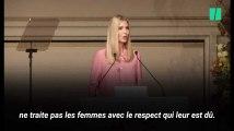 Ivanka Trump veut plus de respect pour les femmes, twitter lui rappelle qui est son père