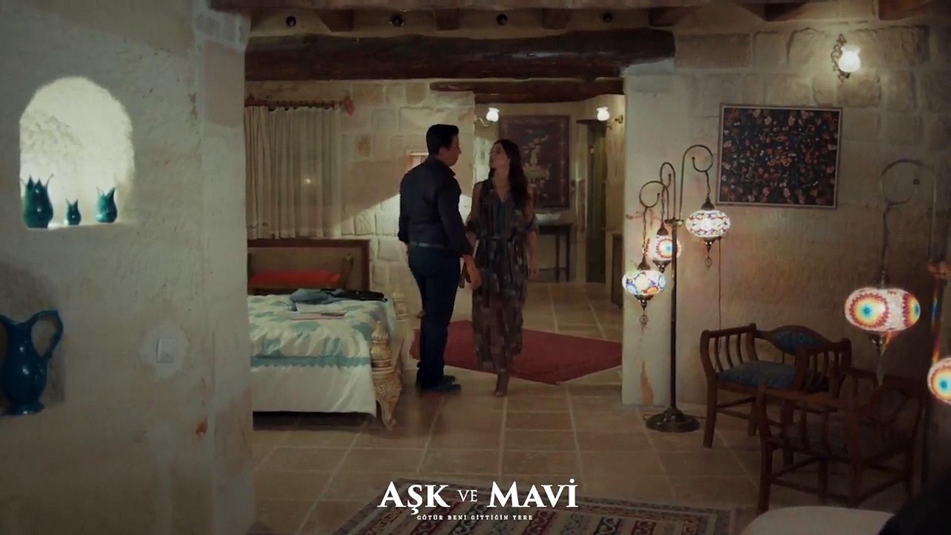 Aşk ve Mavi 34.Bölüm - Mavi, Sinem'in dolduruşuna geliyor!
