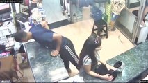 watch the cleverness of couple in shop