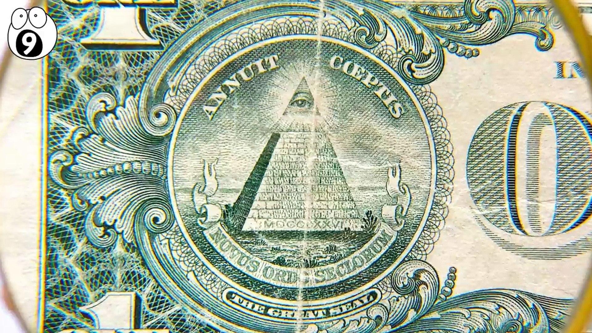 Top 10 Conspiracies Hidden in Secret on Dollar Bills