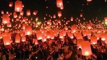 [Actualité] Festival des lanternes volantes au nord de la Thaïlande