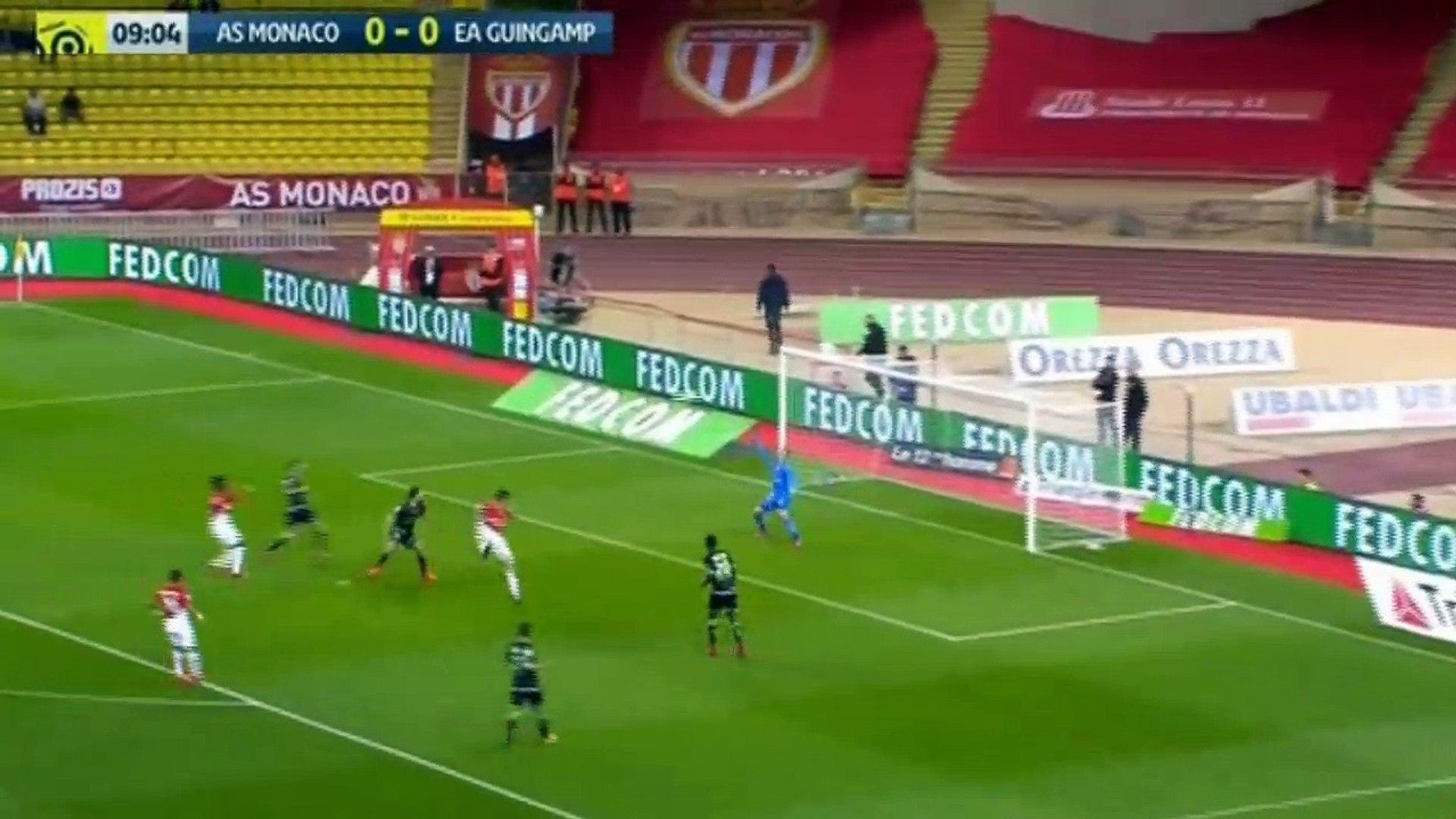 Guido Carrillo Goal HD - AS Monaco 1 - 0 Guingamp - 04.11.2017 (Full Replay)