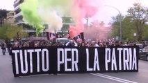 A bevándorlás ellen tüntettek Rómában