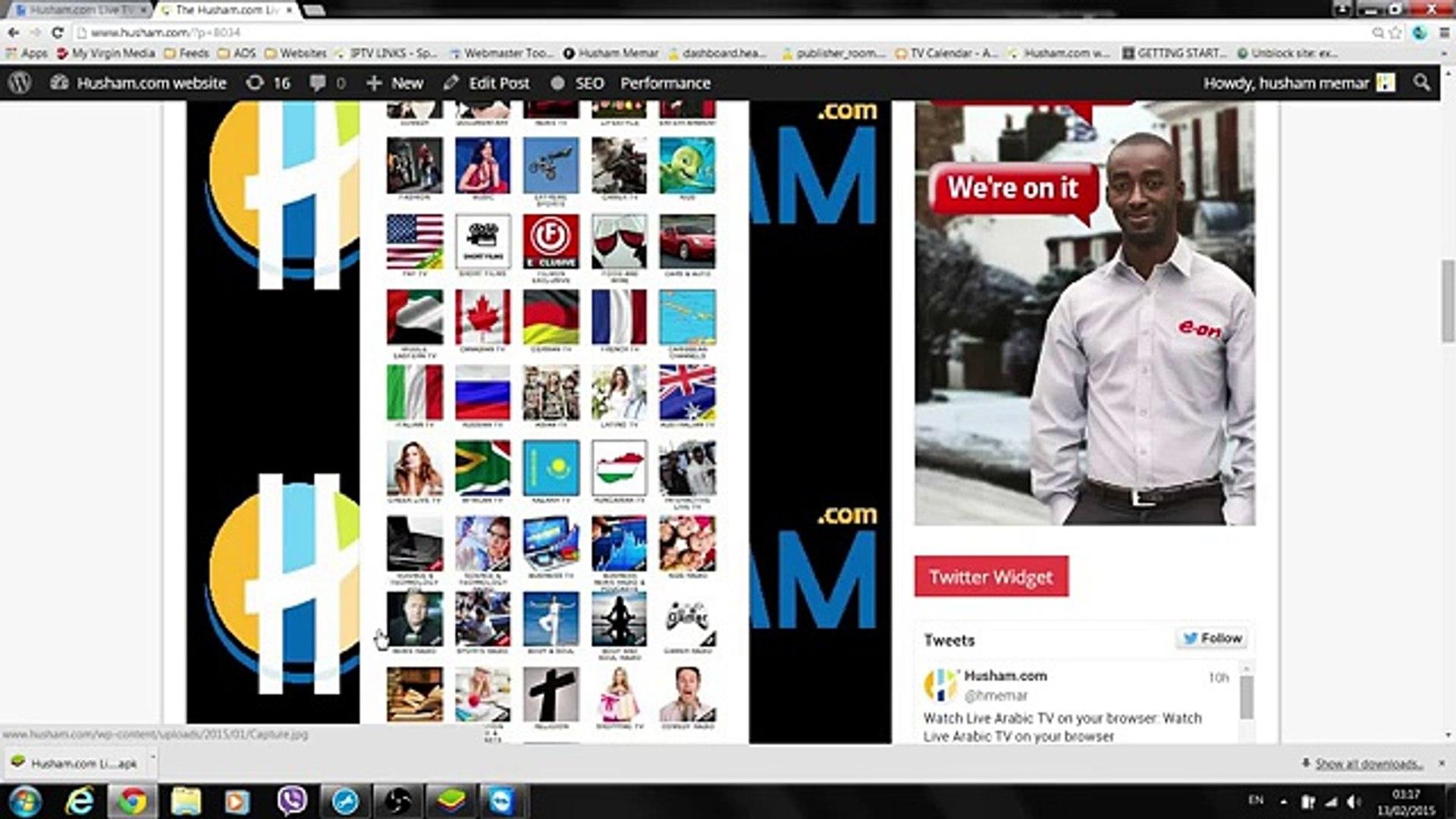 Husham com Android App - Watch World Live TV - HUSHAM IPTV