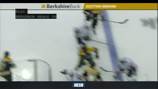 Berkshire Bank Exciting Rewind: David Pastrnak Opens Up Scoring For Bruins