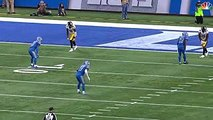 JuJu Smith-Schuster 97 Yard Touchdown  Steelers vs. Lions  NFL