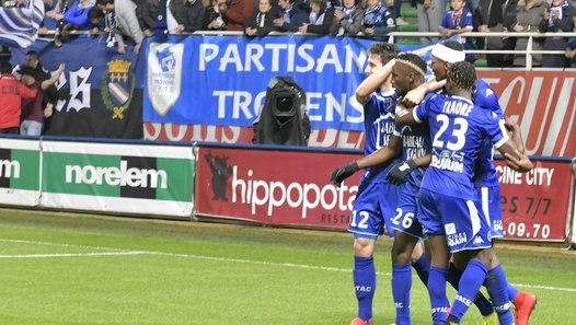 estac 3-0 rc strasbourg u23a5r u00e9sum u00e9 du match