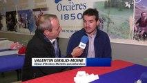 """Hautes-Alpes : Valentin Giraud Moine : """"je n'ai jamais revu les images de ma chute"""""""