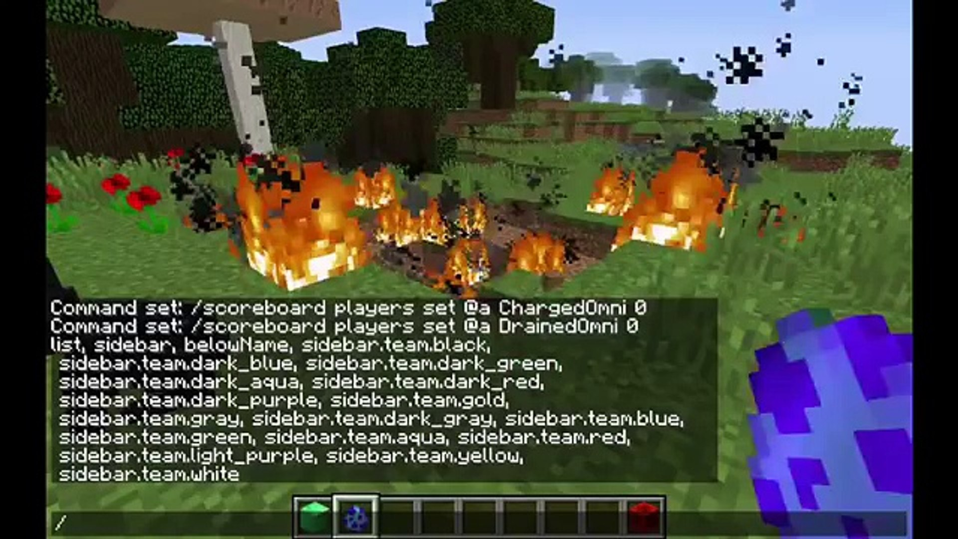 Minecraft Give Commands