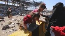 Lanzan bombardea contra posiciones hutíes en Yemen