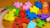 Hedgehog Puzzle Video 12345678910 Game Videos Numeros for Kids 123 Puzzles Learn