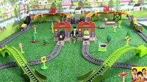 THOMAS AND FRIENDS - THE GREAT RACE #91 TRACKMASTER THOMAS THE TANK TOYS KIDS PLAYING TOY TRAINS