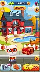 Talking Tom Gold Run in China ✔ Super Angela celebrates in China - 2017 New Update GamePlay