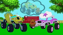 BLAZE CAR THE MONSTER MACHINES Scam Play Doh Crying Full Episodes! Blaze Monster Truck Cartoon