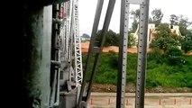 Indian Railways : Dangerous Railway Bridge, Vijayawada Junction (South Central Railway)
