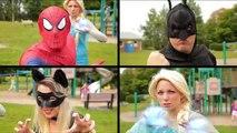 The SCHOOLGIRL prank! - w/ Batman, Catwoman, Joker and Harley Quinn