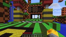 Minecraft SONIC THE HEDGEHOG MOD / PLAY AS SONIC AND GO SUPER SPEEDS!! Minecraft
