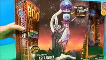 ASTRANOVA Monster High Boo York Floatation Station Floating Alien Doll Playset Deboxing Toy Review