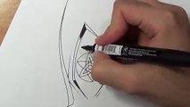 How To Draw Sasukes Eternal Mangekyou Sharingan - Step By Step Tutorial