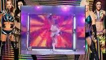 WWE RAW  Melina & Victoria vs Maria & Mickie + Backstage Segment