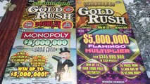 GREAT WIN ON HUGE MONOPOLY SCRATCHER!! $20 Florida Lotto Scratchers